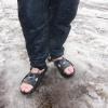 Natte / koude voeten Gerard (pak lek)