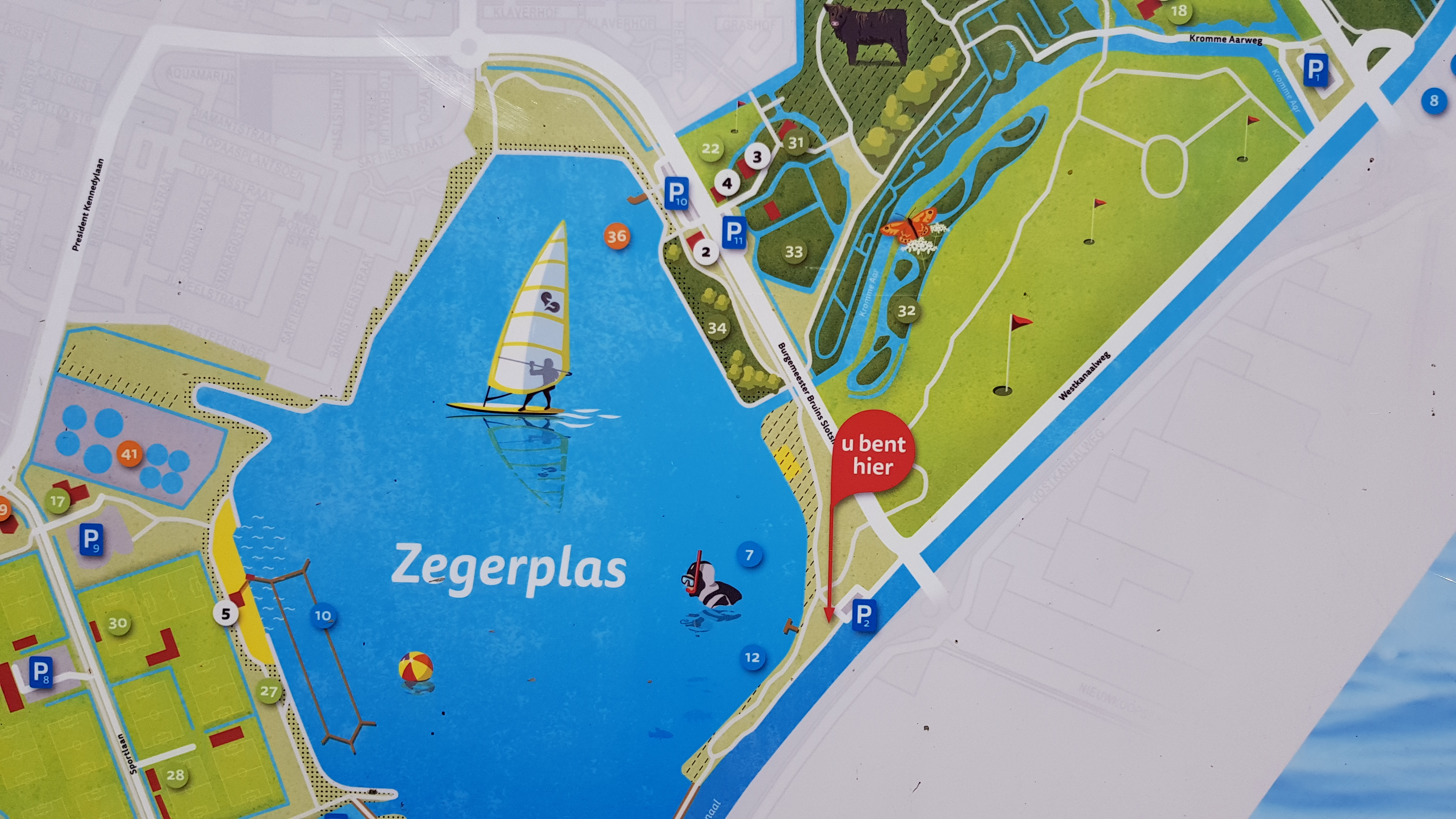 Zegerplas onderwater natuurpark